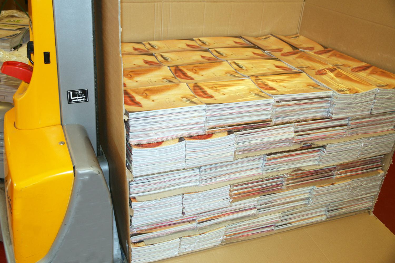 Pakketten van DBB