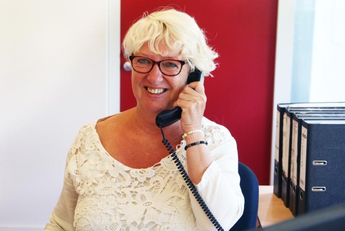 De Telefoniste van DAVO Fulfilment Services